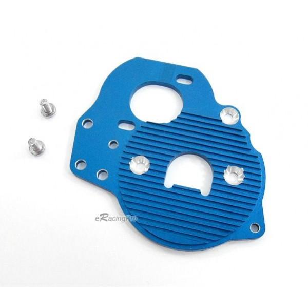 Alloy Motor Heat Sink Plate for Tamiya DF-03 (Blue) - eRacingPro