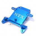 Alloy Front Bulk Head / Shock Mount for Team Losi XXXNT (Blue)