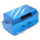 Alloy Receiver Battery Box for Team Losi XXXNT (Blue)