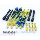 Alloy Front and Rear Shock Absorber / Suspension / Dampers for Team Losi XXXNT/ RC10GT (Blue)