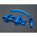 Alloy Steering Bellcrank Fit Team Losi 8IGHT Race Buggy (Blue)