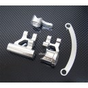 Alloy Steering Bellcrank Fit Team Losi 8IGHT Race Buggy (Silver)